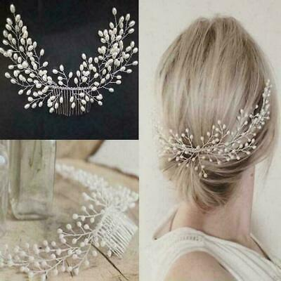 $ CDN0.95 • Buy Women Tiara Bridal Hair Comb Wedding Headwear Jewelry Accessories U8W5 Hair Z3Z5