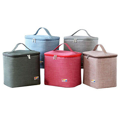 Insulated Thermal Lunch Bag Picnic Food Storage Case Lunch Box For Adult Kids • 8.88£