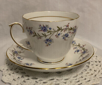 Vintage Duchess Bone China Tranquillity Large Tea Cup And Saucer ✅ • 10.99£