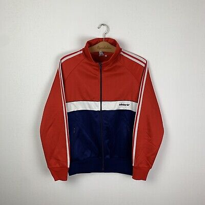 90 Vintage Men's ADIDAS ORIGINALS Track Top Jacket WEST GERMANY Size 6 • 38.92£