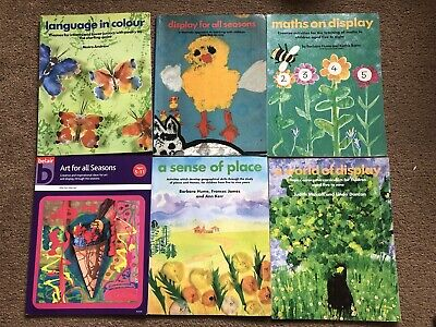 £6 • Buy 6 Teaching Books Belair, Including World Of Display And Maths On Display