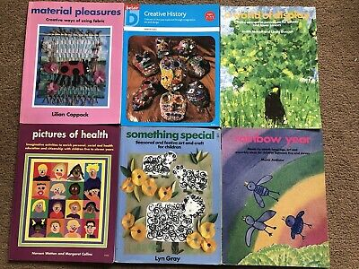 £6 • Buy 6 Teaching Books Belair Including World Of Display & Something Special