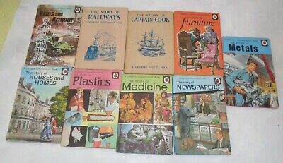 Ladybird Books, The Story Of X 9 • 8£