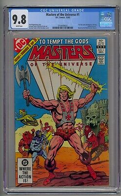 $599.99 • Buy Masters Of The Universe #1 Cgc 9.8 White Pages!!!!