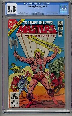 $549.99 • Buy Masters Of The Universe #1 Cgc 9.8