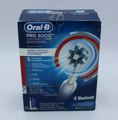 AU59.37 • Buy Oral-B Pro 5000 Smart Series Rechargeable Electric Bluetoo Toothbrush New In Box