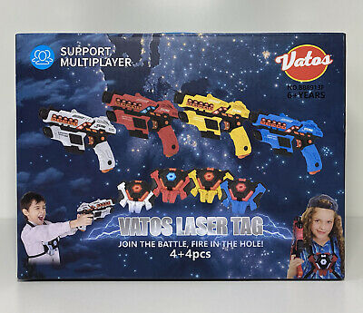£86 • Buy Vatos Laser Tag Set With Spray Function And LED Display Age 6 +