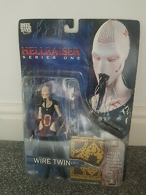Neca Hellraiser Figure Wire Twin Good Condition Sealed In Box • 5£