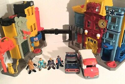 Fisher Price Imaginext 2013 Rescue City Center/Fire Station Set Figures Lot • 22.79£