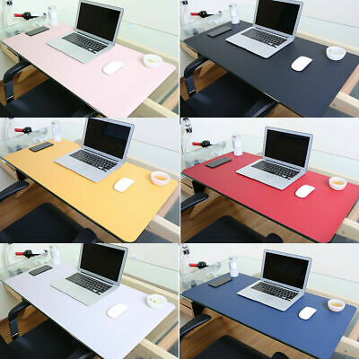 £11.99 • Buy  Anti-slip Desk Mat PU Leather Mouse Pad Office Home Desk Protector Waterproof