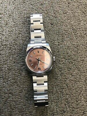 AU5000 • Buy Used/ROLEX Oyster Perpetual, 26mm Pink Dial ,Stainless Steel, Automatic Watch.
