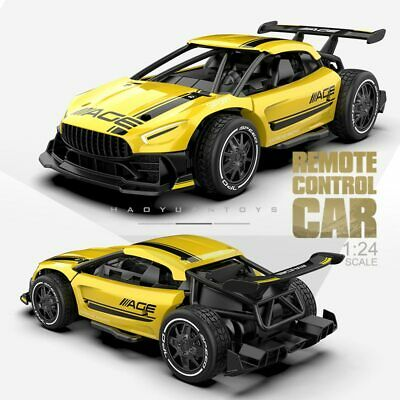 £26.32 • Buy 4CH RC Race Car Toys For Children 1:24 High Speed Electric  RC Drift Driving Car