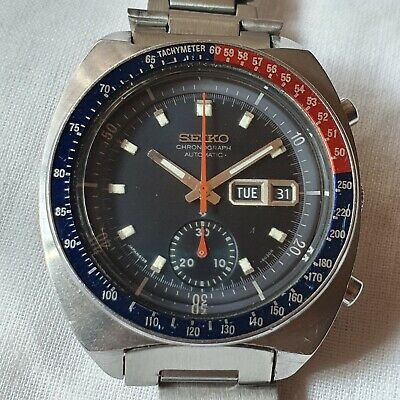 $ CDN788.55 • Buy Vintage Seiko Pogue Chronograph 6139-6002 Automatic 1974 Men's Watch