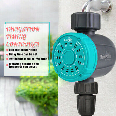 Garden Irrigation Timer Automatic Watering Hose Water Controller Programmable • 17.17£