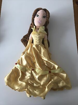 Disney Store Exclusive Princess Belle Soft Plush Toy Doll Approx 50cm • 10£