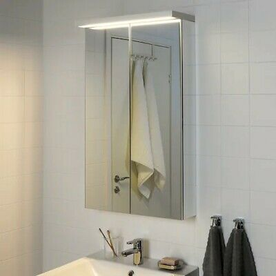 Ikea GODMORGON - Led Bathroom Cabinet Wall Lighting Lamp White 60cm Modern  • 20£