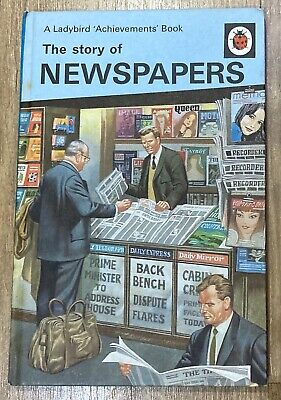 The Story Of Newspapers Ladybird 'Achievements' Book (1969 Hardback, 601 Series) • 2.50£