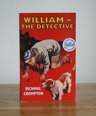 William The Detective By Richmal Crompton (Book 17 - 1986 Paperback) • 4.99£