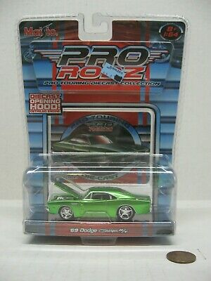 $11.66 • Buy Maisto Pro Rodz Green 1969 Dodge Charger R/T Pro-Touring Diecast Car