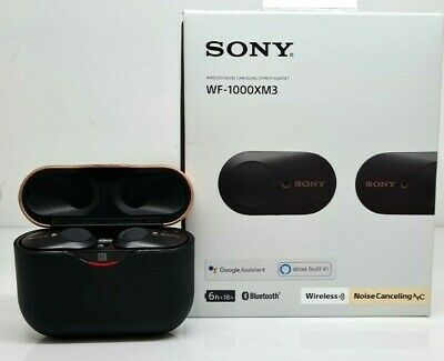 AU104.50 • Buy Sony WF-1000XM3 Wireless Noise Cancelling In-Ear Stereo Headset Black - From $1