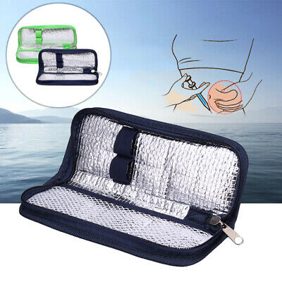£3.48 • Buy Portable Diabetic Insulin Pouch Cooler Thermal Insulation Cooling Bag Case New