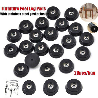 £2.46 • Buy NEW 20pcs Rubber Table Chair Furniture Feet Leg Pads Tile Floor Protectors