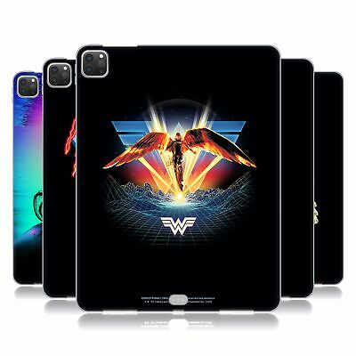 Official Wonder Woman 1984 80's Graphics Soft Gel Case For Apple Samsung Tablets • 19.06£