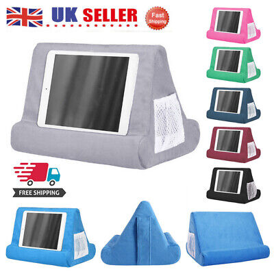 UK Soft Lap Stand For IPad Tablet Multi-Angle Phone Cushion Laptop Holder • 11.51£