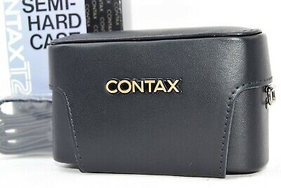 $ CDN195.40 • Buy [Unused In Box] Contax T2 Semi Hard Leather Case Point & Shoot Camera Strap JPN