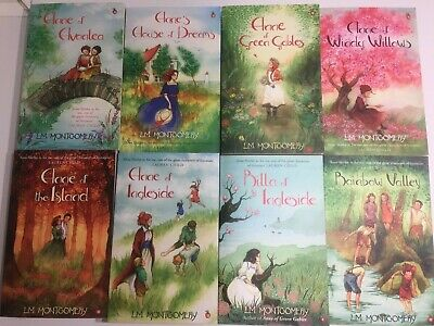 Anne Of Green Gables Complete 8 Book Set By L M Montgomery • 30£