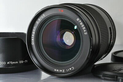 $ CDN1401.57 • Buy Extremely Elegant Contax Carl Zeiss Distagon 45Mm F/2.8 Mmj Lens For 645 4942