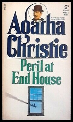 Agatha Christie - Peril At End House - Pocket Books Paperback 1981 • 6.52£