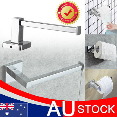 AU14.59 • Buy Toilet Roll Holder Stainless Steel Wall-mounted Toilet Paper Holder Stand AU