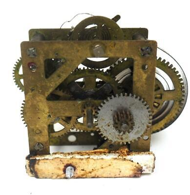 £9.95 • Buy Vintage Mantel Clock Movement Might Be For A Cuckoo Clock Clockmakers Spares