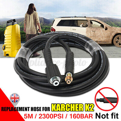£10.79 • Buy 5M For Karcher K2 High Pressure Hose Washer Water Cleaning Pipe Replacement UK
