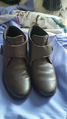 Ladies Pavers Boots Brown  Leather Boots Size 5 Small   • 4.20£