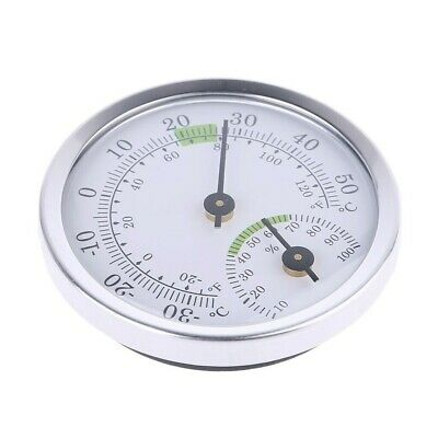 £4.57 • Buy Thermometer Room Hygrometer Humidity  Small Meter Home Dial Scale Gauge Tools