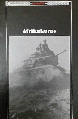 WWII The Third Reich Series Afrikakorps Time-Life Books Hardback Book  • 2.50£