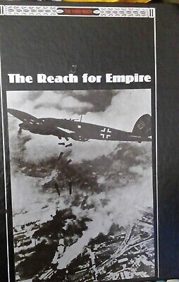 WWII The Third Reich Series Reach For The Empire Time-Life Books Hardback Book  • 2.50£