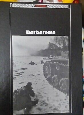 WWII The Third Reich Series Barbarossa Time-Life Books Hardback Book  • 2.50£