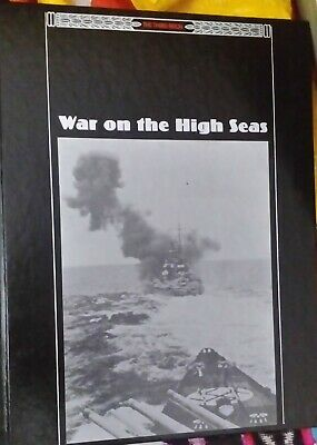 WWII The Third Reich Series War On The High Seas Time-Life Books Hardback Book  • 2.50£