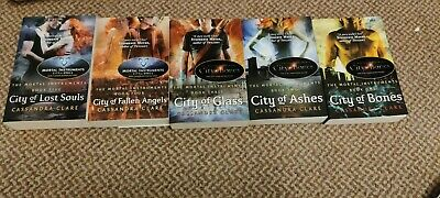 The Mortal Instruments Book Set 1-5 By Cassandra Clare • 20£
