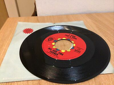 """Ike And Tina Turner  - A Fool For A Fool -  Usa Vinyl 7"""" Single Northern Soul • 14.95£"""