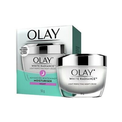 AU38.10 • Buy Olay White Radiance Advanced Whitening Essence Skin  Night Cream Moisturizer 50g