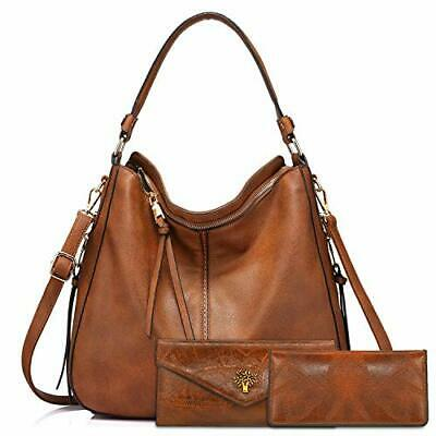 $ CDN74.07 • Buy Handbags For Ladies Black Large Leather Purses For Women Tote Messenger
