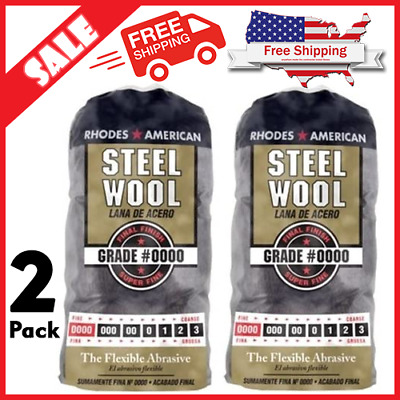 $15.87 • Buy Homax Products #0000 Super Fine Finish Steel Wool Pad 12 Per Package (2 Pack)