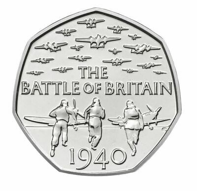 2015 (the Battle Of Britain)  Rare 50p Coin Fifty Pence  • 2.25£