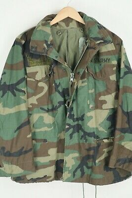 $65 • Buy VTG ARMY M-65 Cold Weather Field Coat Military Jacket Size Medium Short