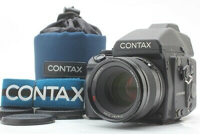 $ CDN5696.88 • Buy [Almost MINT] CONTAX 645 AF Medium Format Camera W/ Planar 80mm F/2 Lens JAPAN