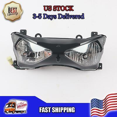$89.99 • Buy NT Front Motorcycle Headlight Headlamp Fit For Kawasaki 2003-2004 ZX6R 636 Q006